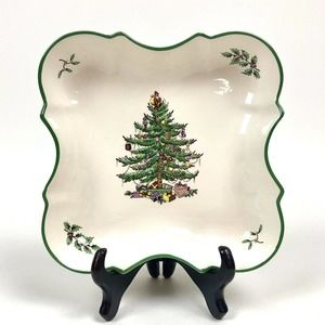 Spode Christmas Tree Devonia Tray Serveware